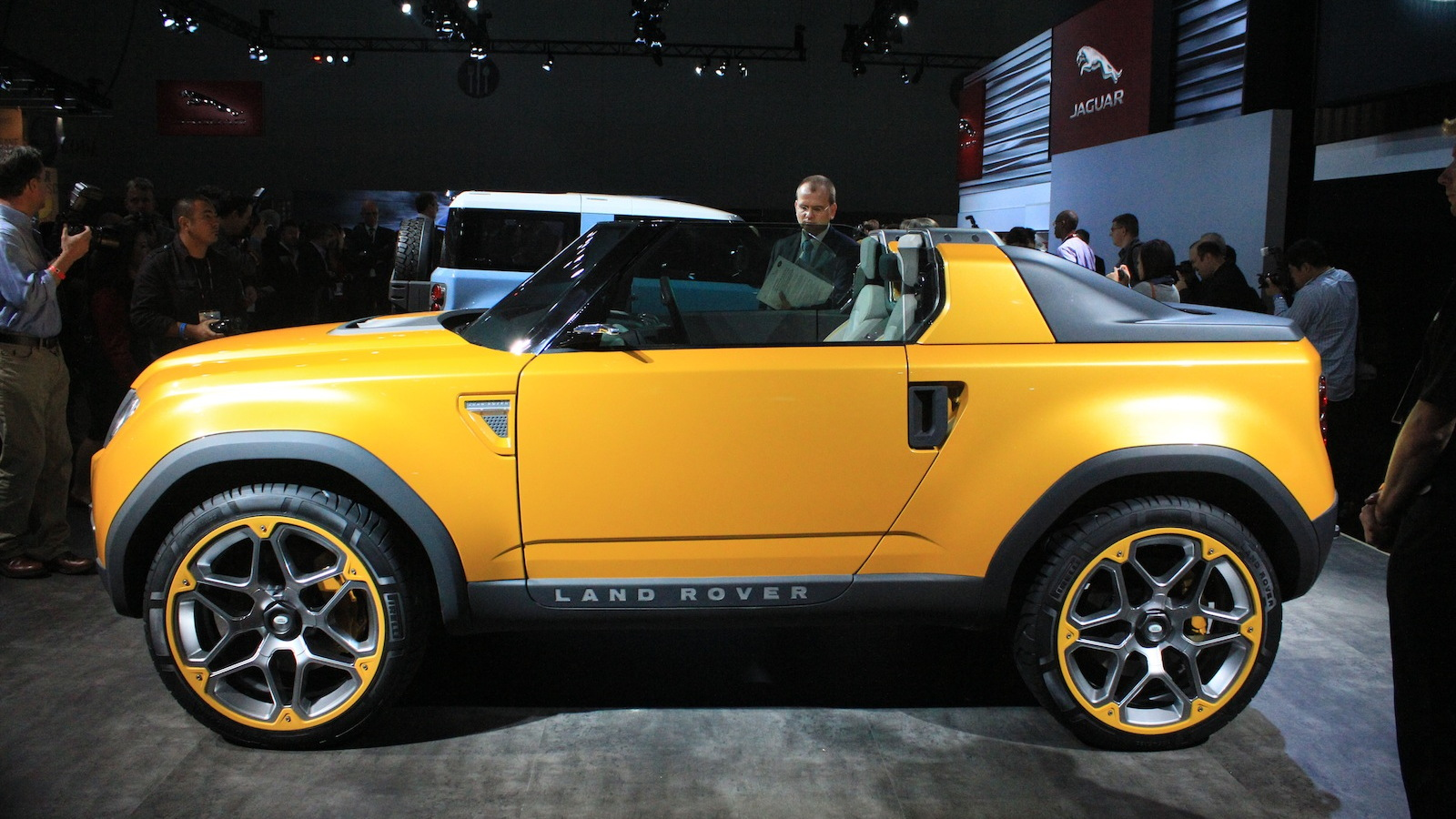 Land Rover DC100 (revised) concepts, live photos