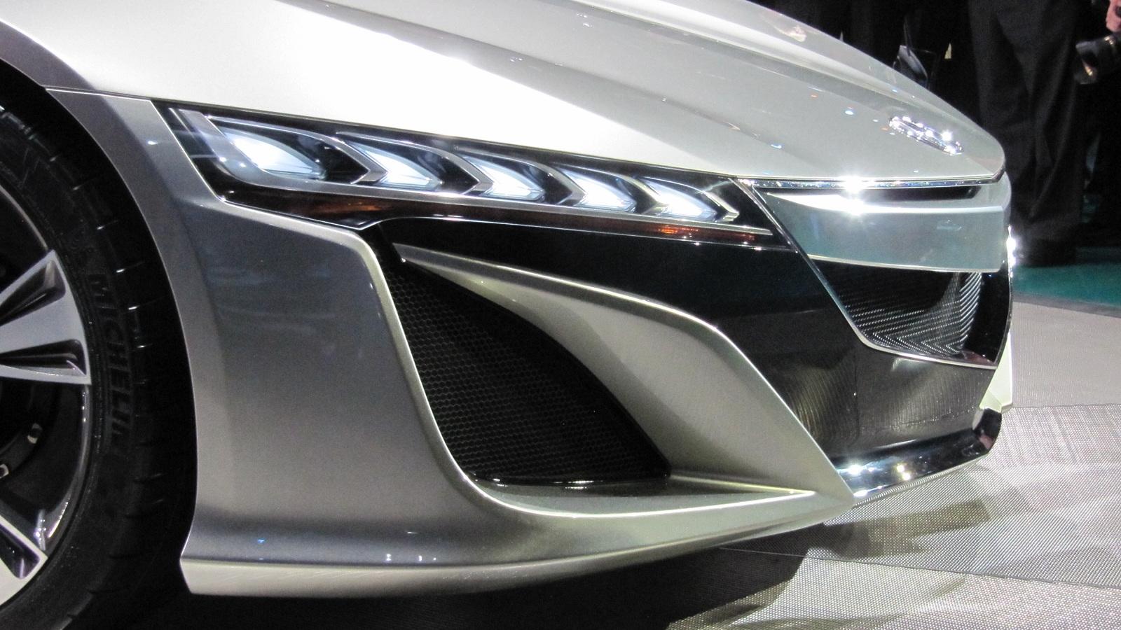 Acura NSX Concept, 2012 Detroit Auto Show