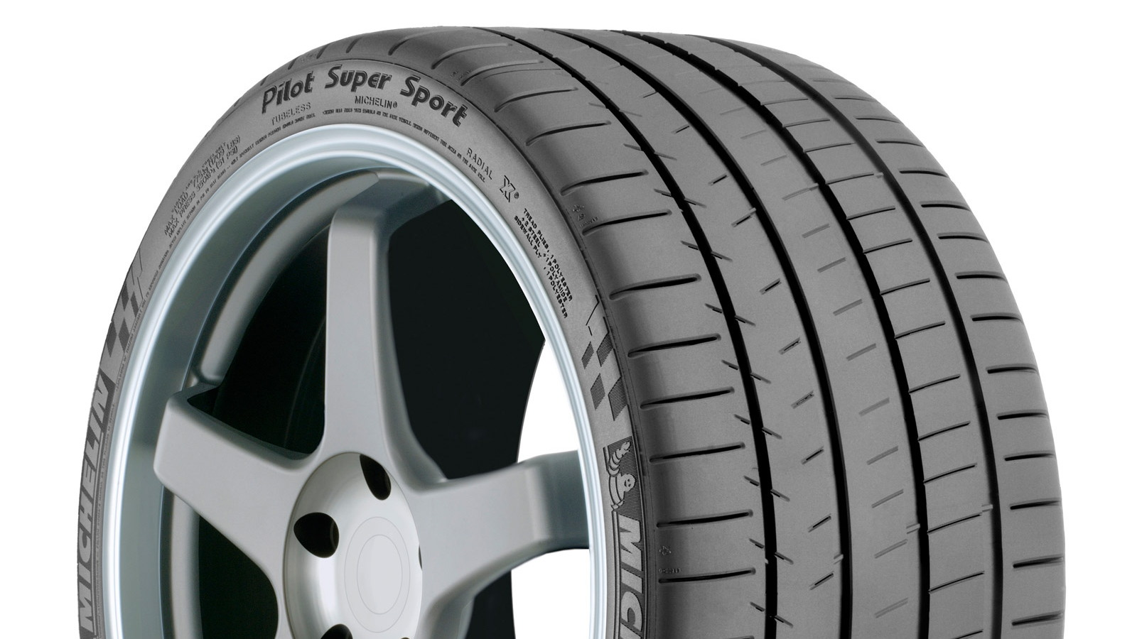 Michelin Pilot Super Sport tire fitted to the Ferrari F12 Berlinetta