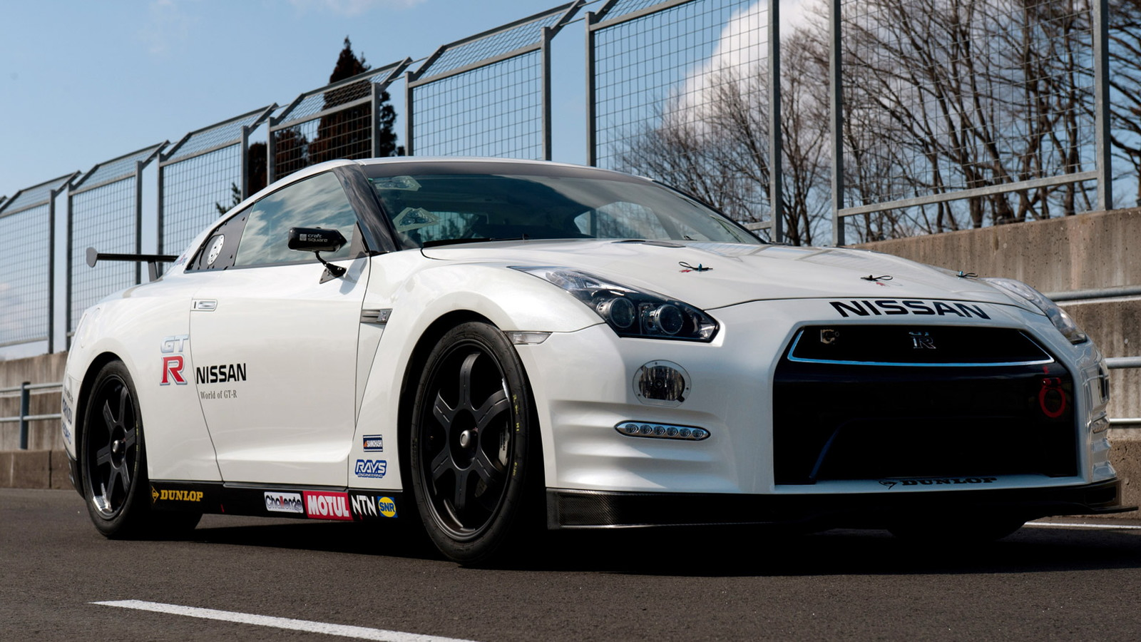 2013 Nissan GT-R (Club Track Edition) entering Nürburgring 24 Hours