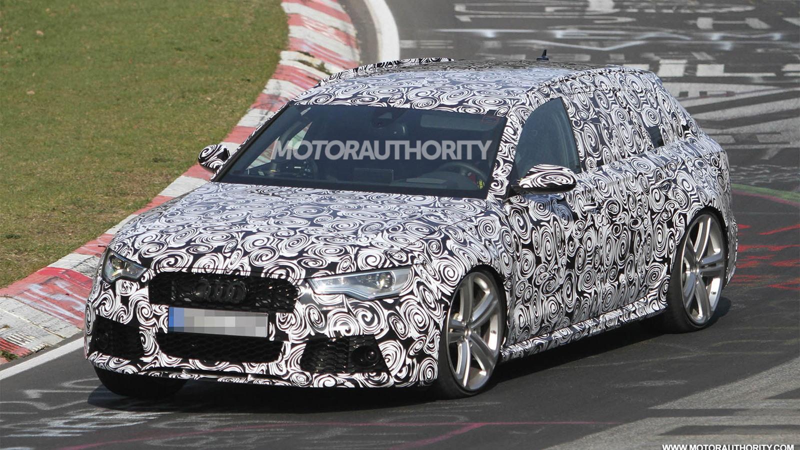 2014 Audi RS 6 Avant spy shots
