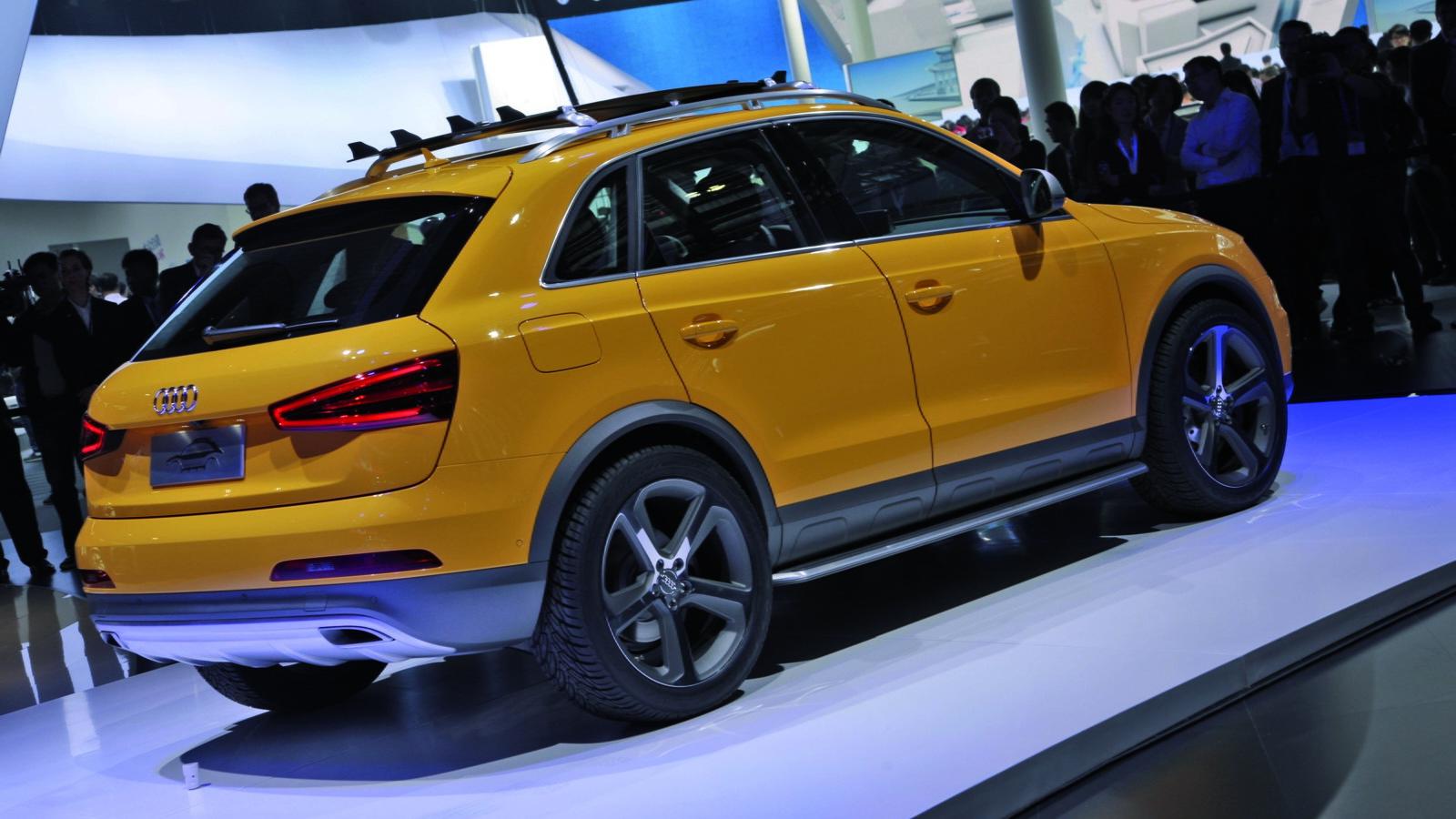 Audi's Q3 Jinlong Yufeng concept for the 2012 Beijing Auto Show