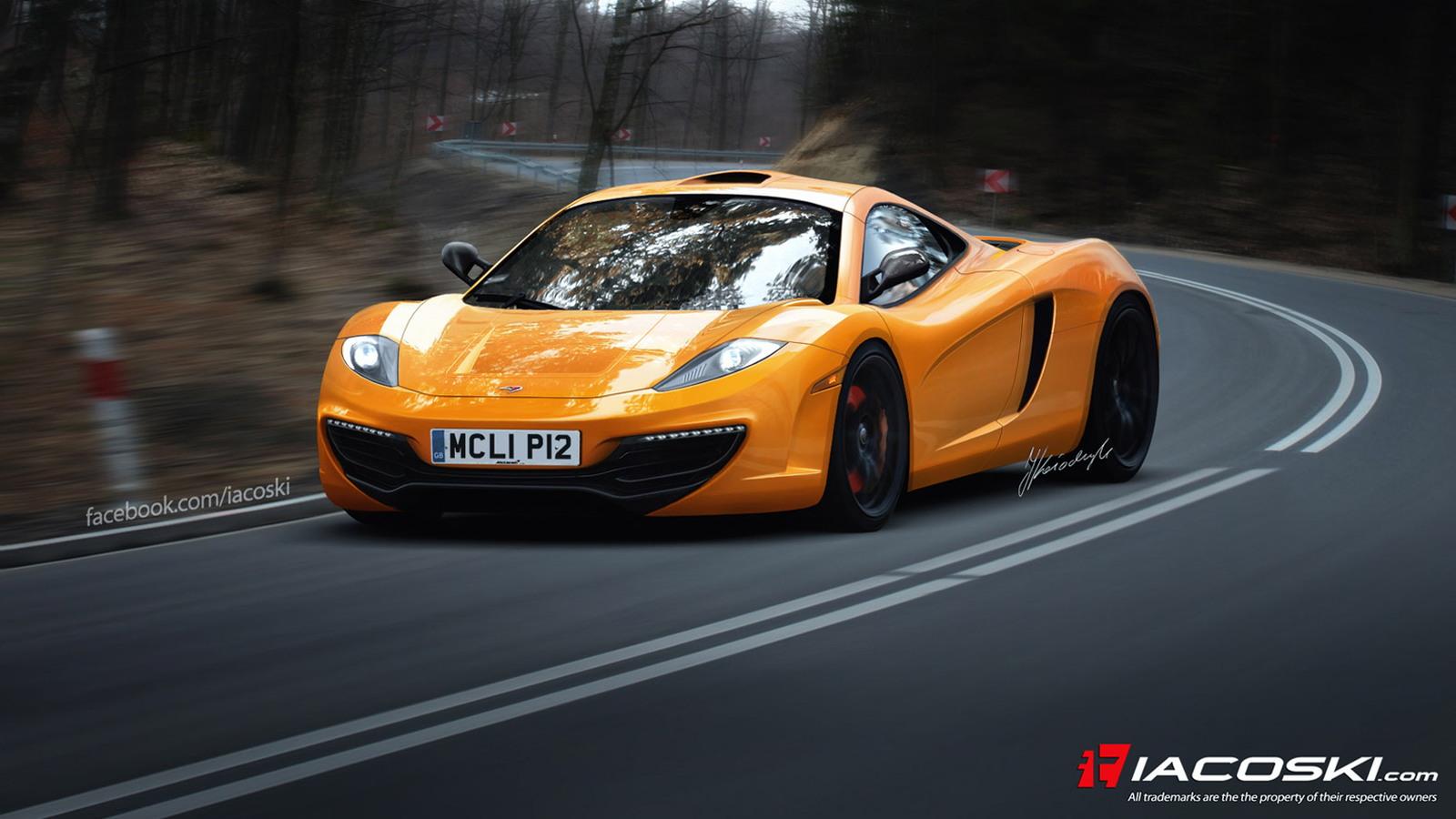 McLaren F1 Successor (P12) rendering by Iacoski Design