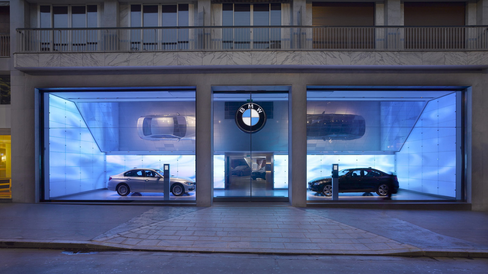 BMW Brand Store in Paris, France