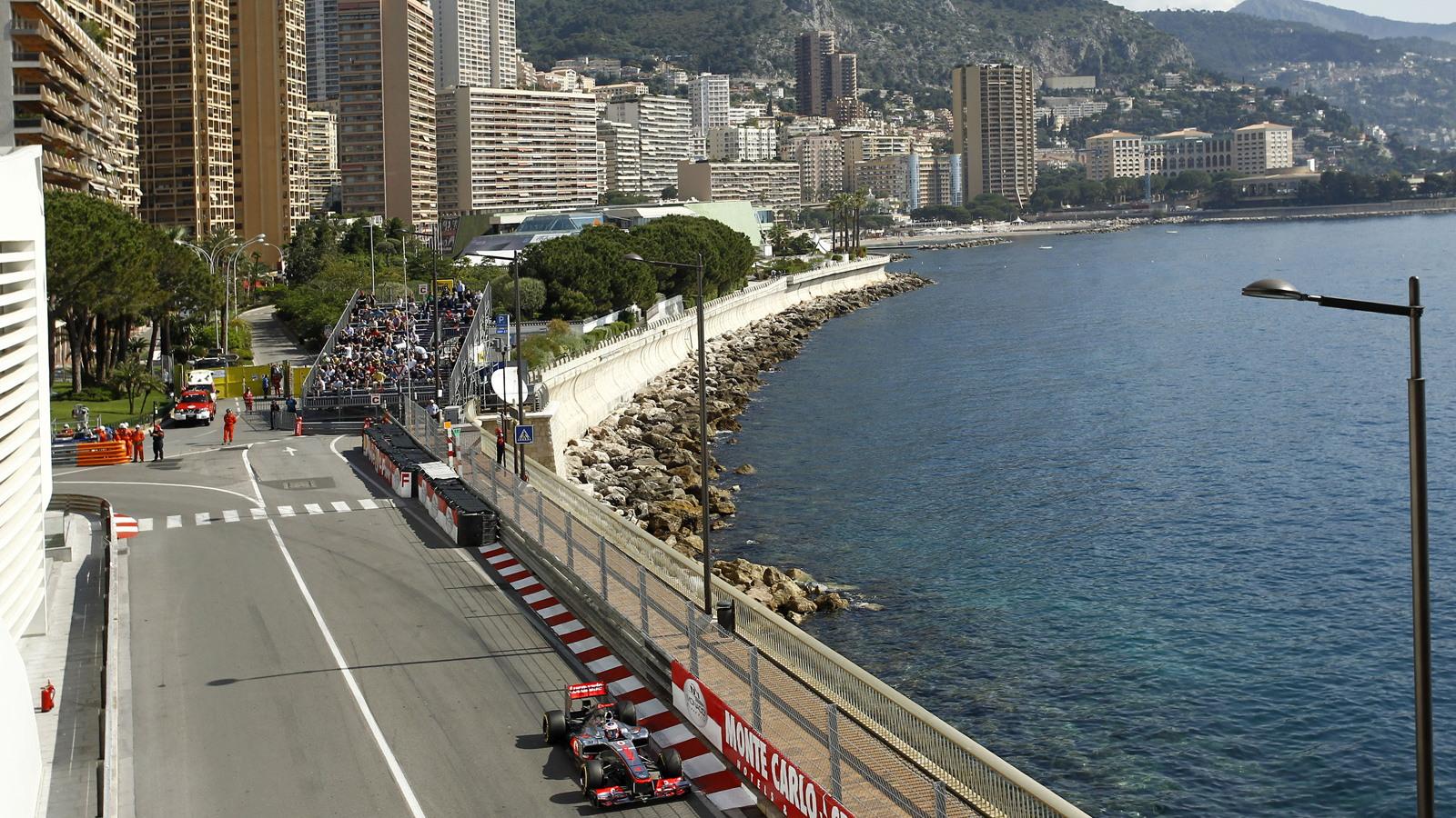 McLaren at the 2012 Formula 1 Monaco Grand Prix