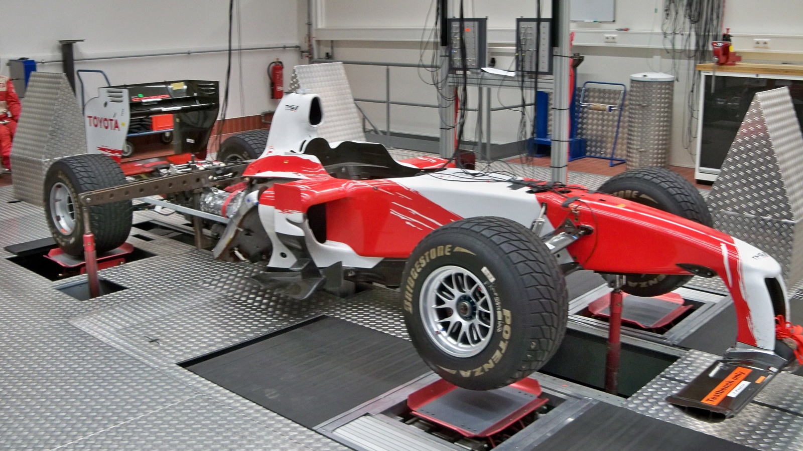 Toyota Motorsport GmbH's facility in Cologne, Germany
