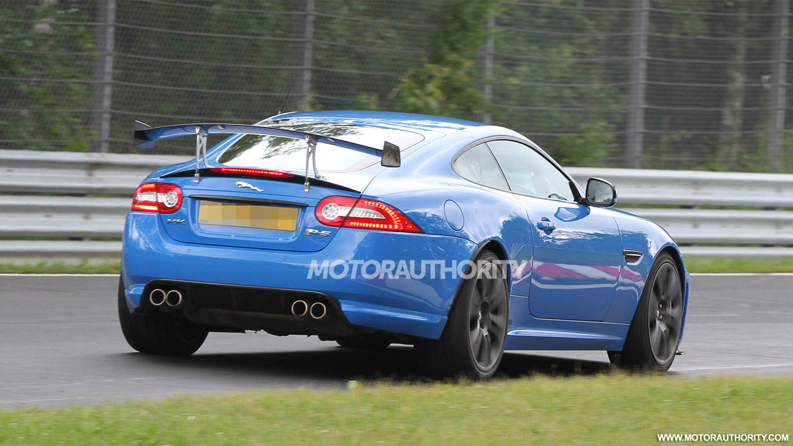 Track-focused 2013 Jaguar XKR-S spy shots