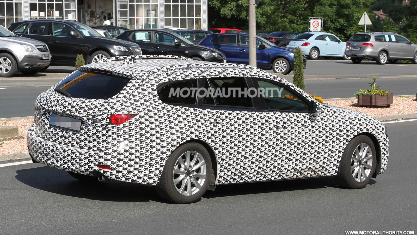 2014 Mazda Mazda6 Wagon spy shots