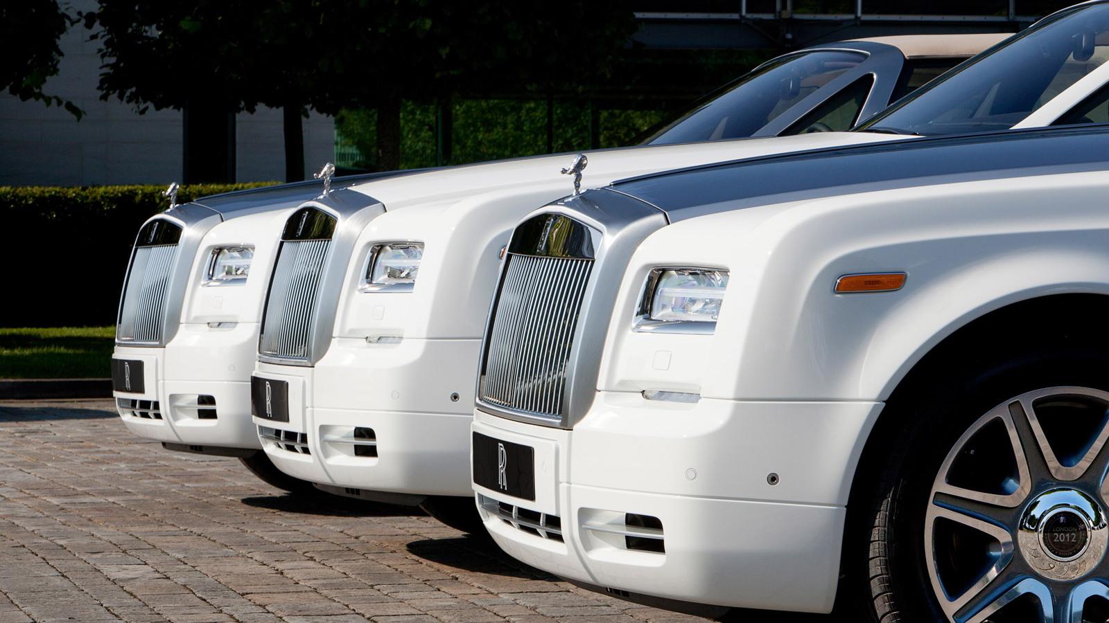 Rolls-Royce Phantom Drophead Coupe Series II 2012 London Olympics special edition