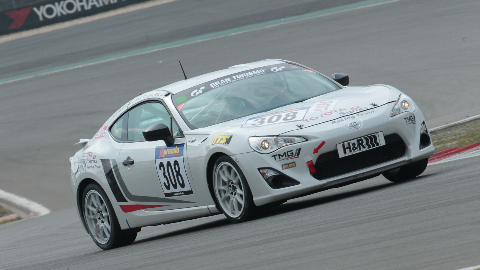 Toyota GT 86 CS-V3 race car built by Toyota Motorsport GmbH