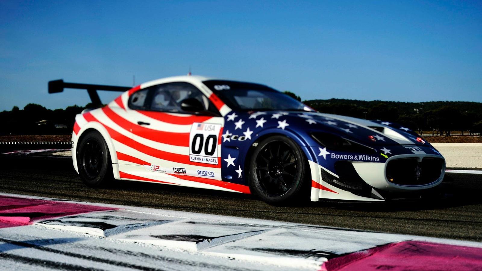 The Maserati GranTurismo MC Trofeo to be campaigned by Patrick Dempsey and Greg Tracy