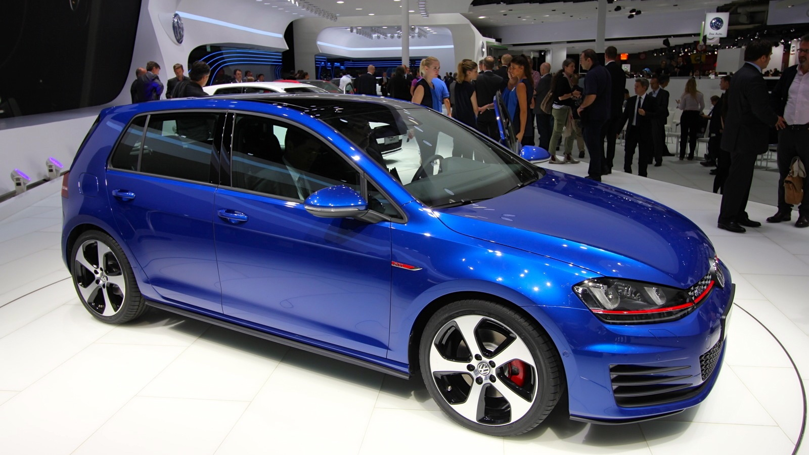 2014 Volkswagen GTI concept, 2012 Paris auto show