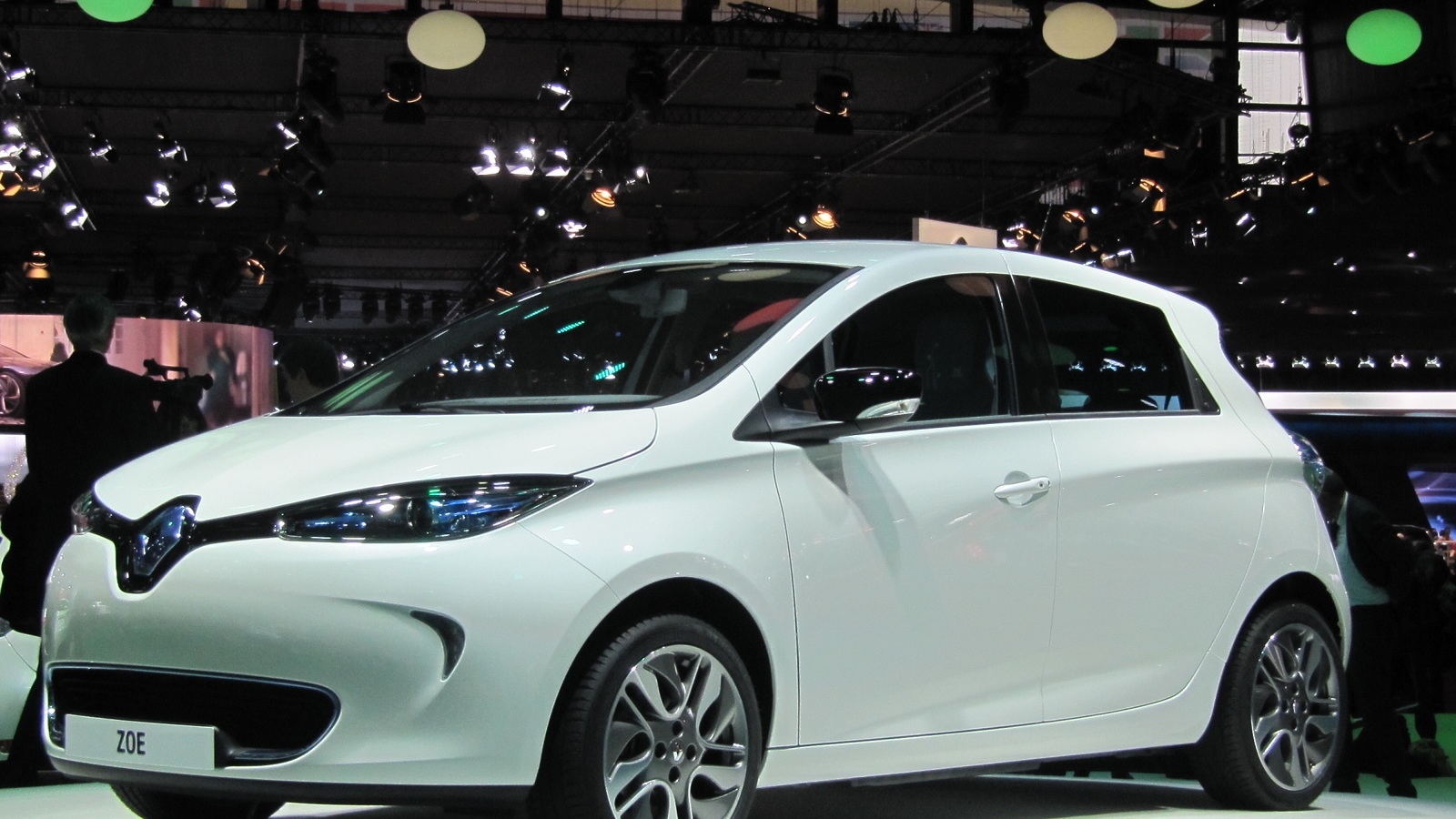2013 Renault Zoe electric car (European model) at 2012 Paris Auto Show