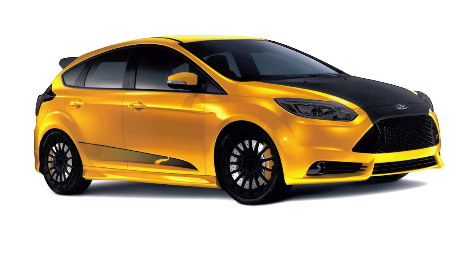 2013 Ford Focus ST built by Steeda for SEMA 2012