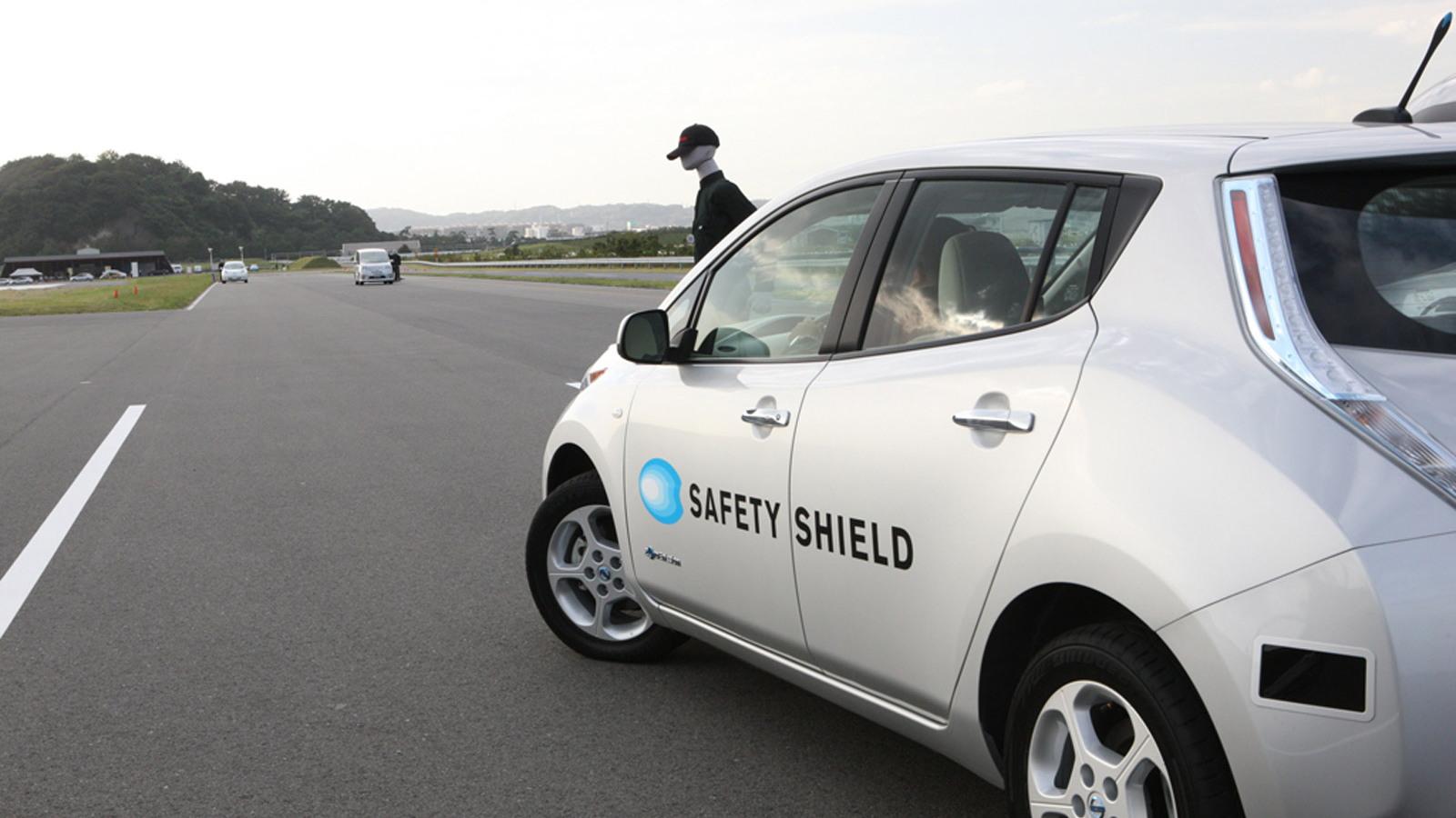 Nissan Autonomous Emergency Steering System