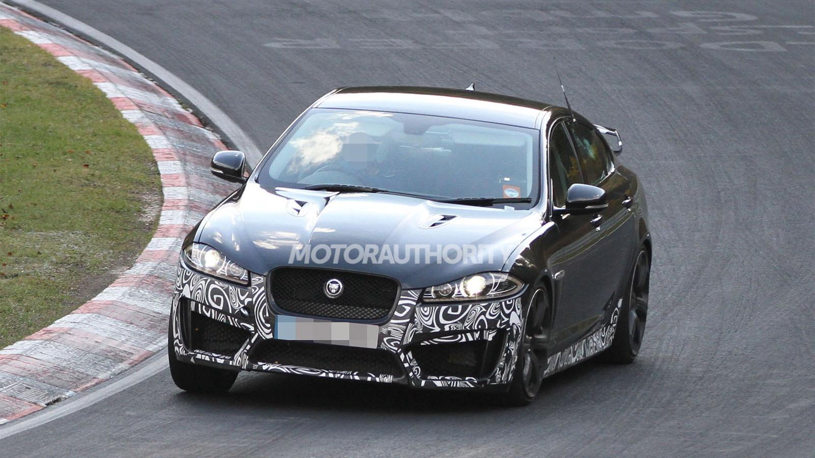 2013 Jaguar XFR-S spy shots