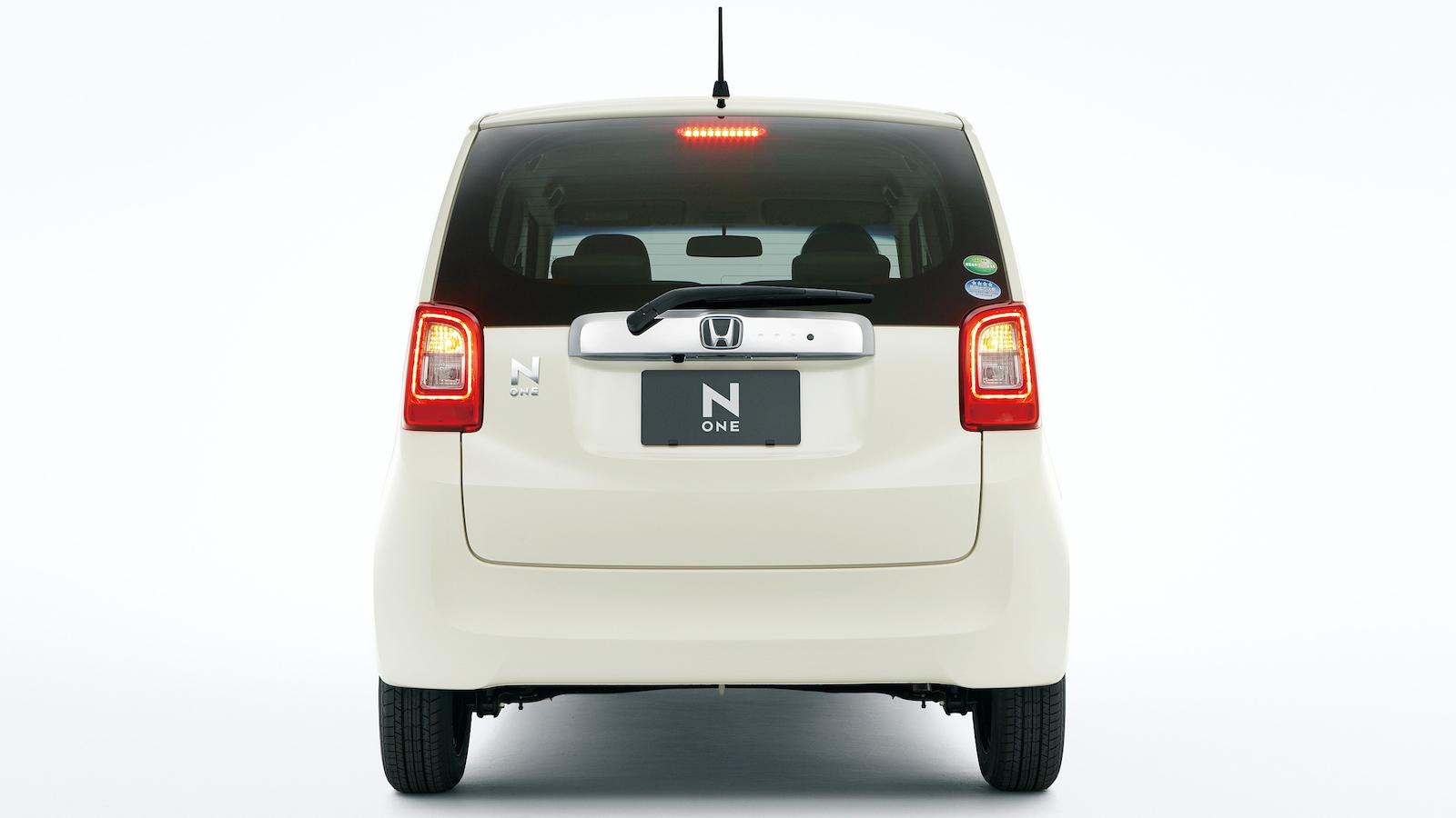 Honda's N-One retro minicar - image: Honda Motor Co