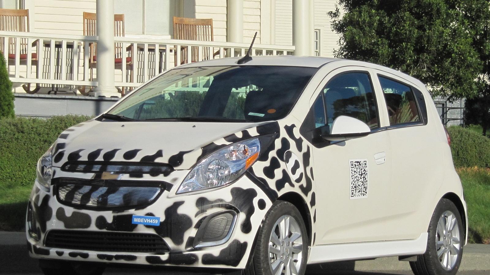 2014 Chevrolet Spark EV prototype, Sausalito, CA, Nov 2012