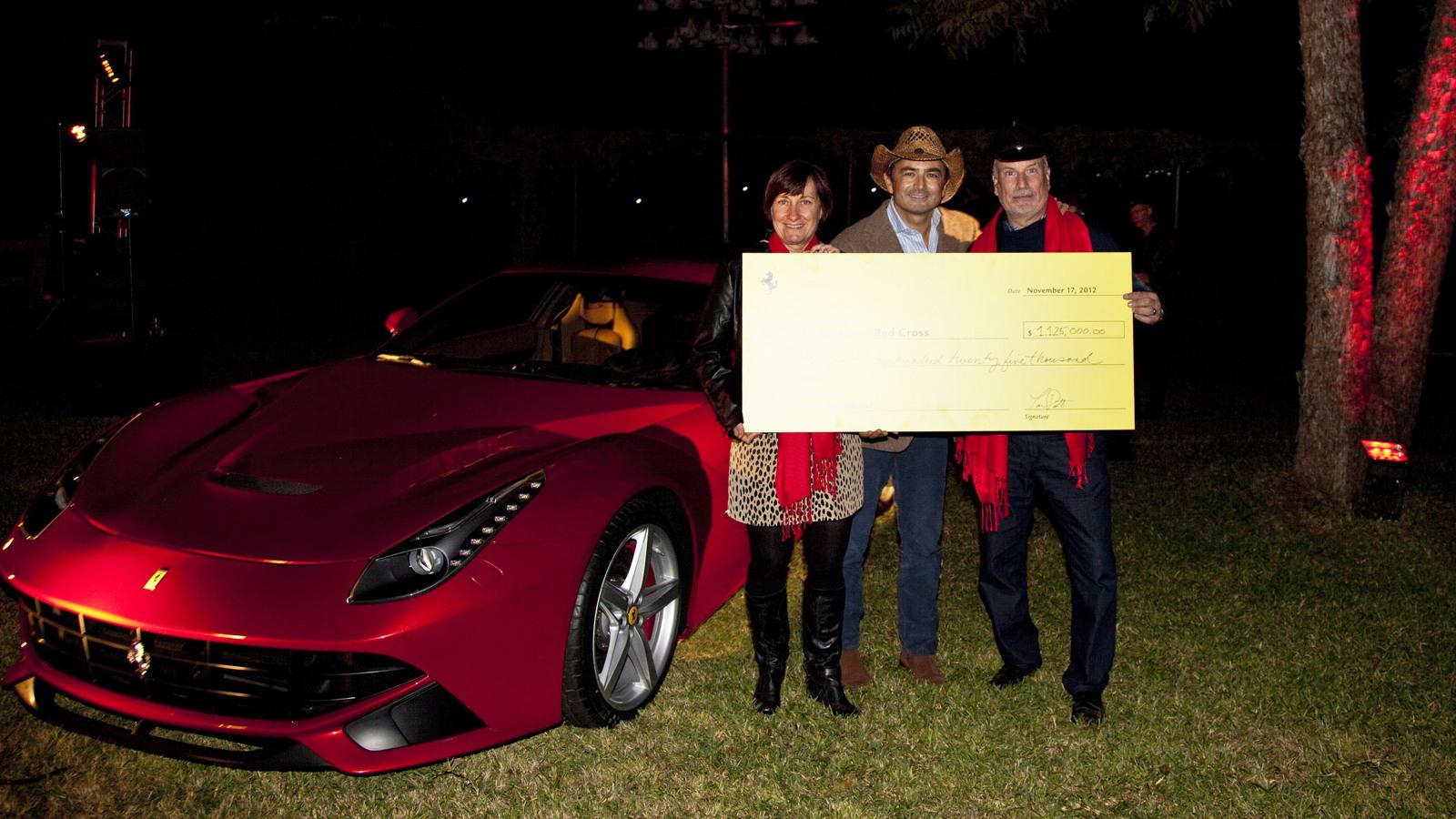F12 Berlinetta is the highlight at Ferrari event surrounding the 2012 Formula 1 USGP