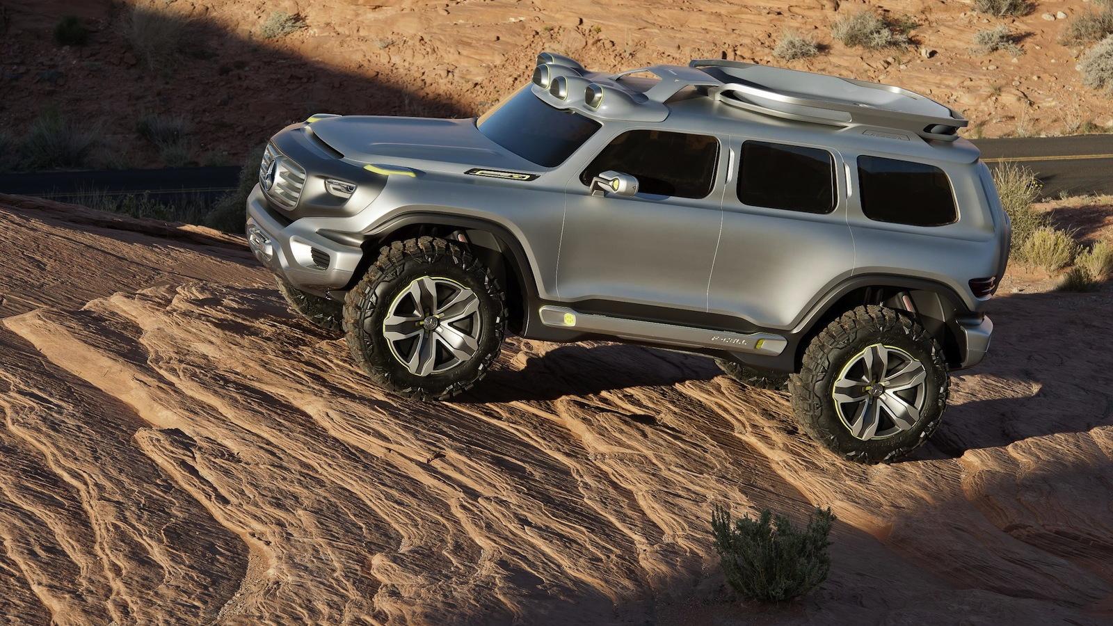 Mercedes-Benz Ener-G-Force off-road concept