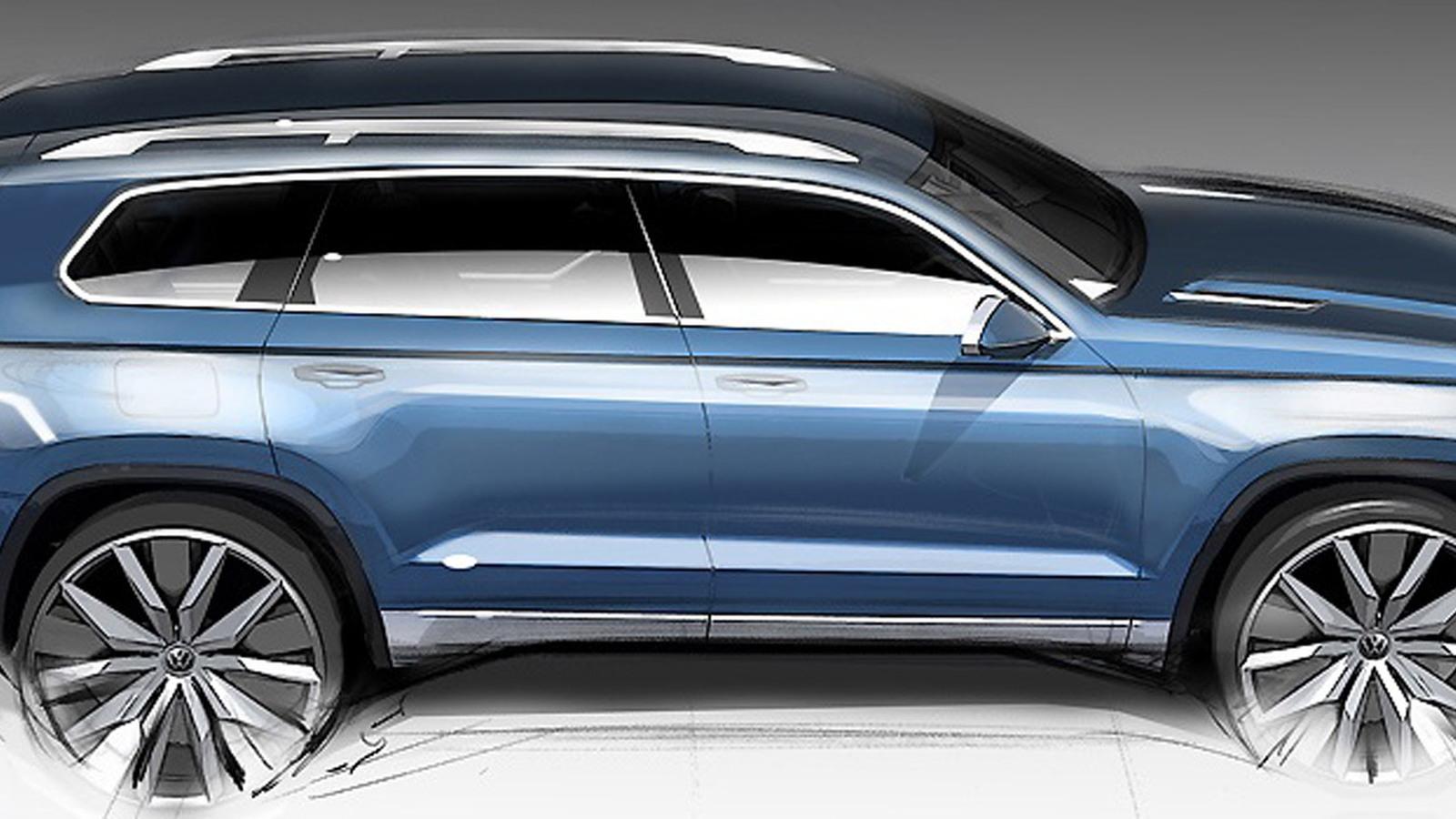 Volkswagen CrossBlue Concept - 2013 Detroit Auto Show