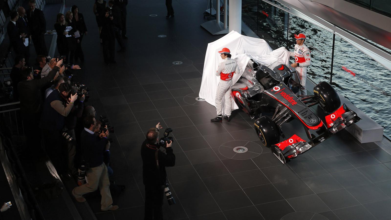 McLaren MP4-28 2013 Formula One race car