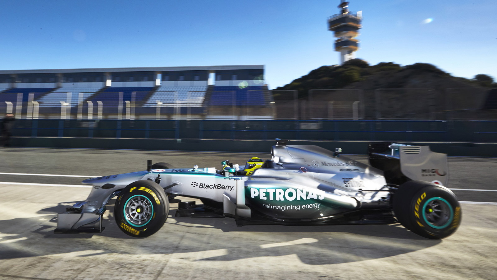 Mercedes AMG's 2013 Formula One race car, the W04