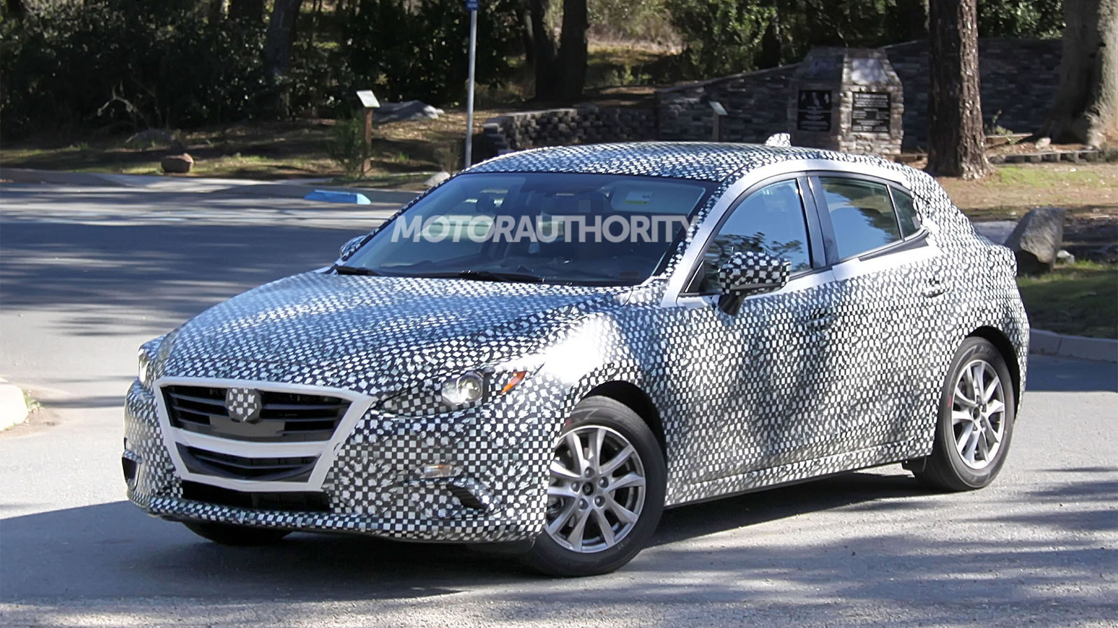 2014 Mazda Mazda3 Hatchback spy shots