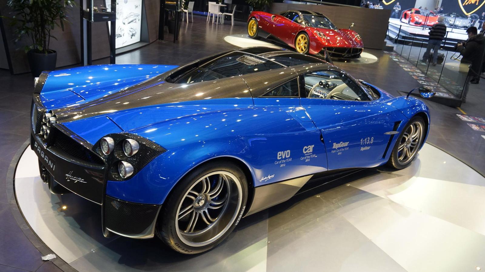 Pagani Huayra, 2013 Geneva Motor Show