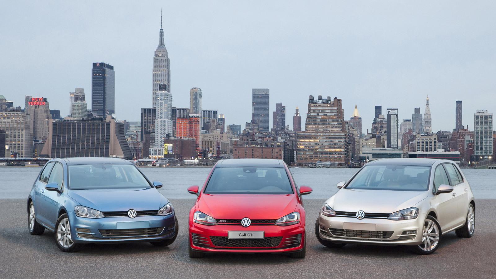Vw Of America >> Volkswagen Debuts 2015 Gti And Golf In New York