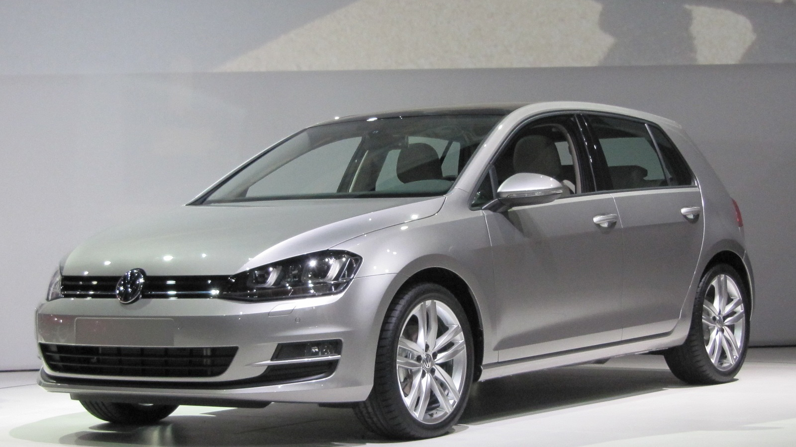 2015 Volkswagen Golf, at 2013 New York Auto Show