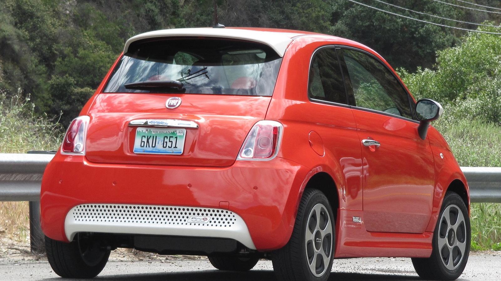 2013 Fiat 500e Electric Car First Drive