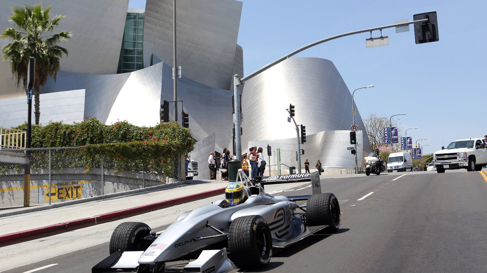 Formula E Championship stops by Los Angeles, California