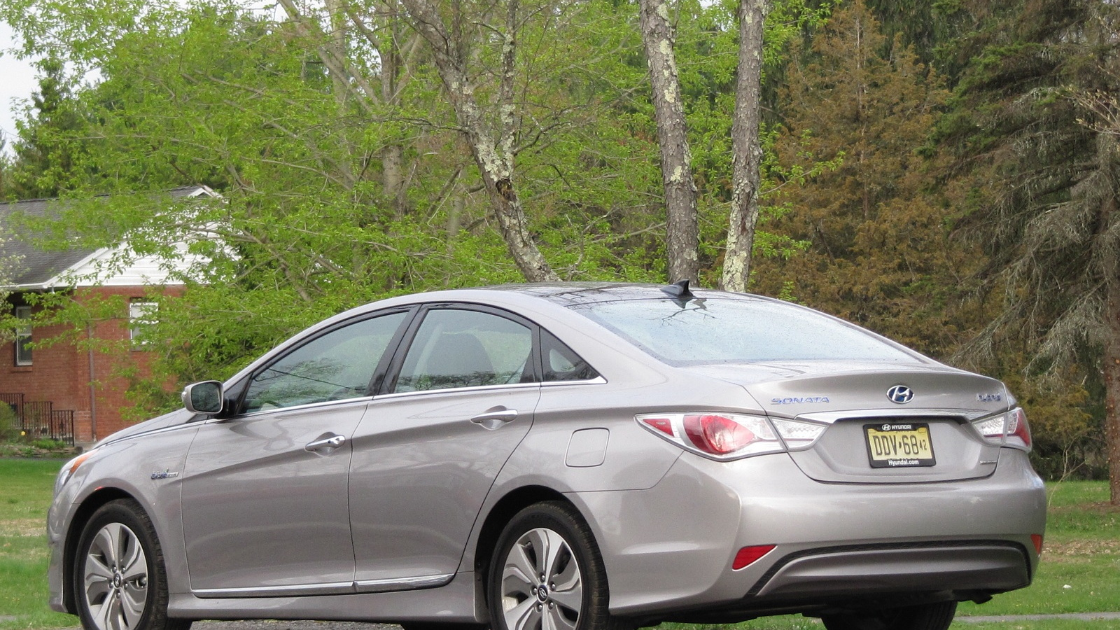 2013 Hyundai Sonata Hybrid, Catskill Mountains, April 2013