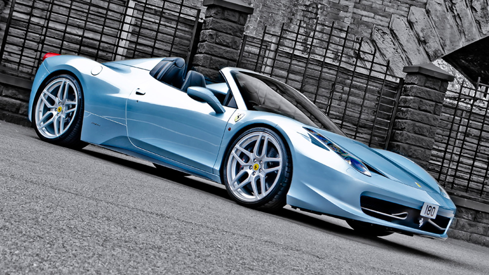Ferrari 458 Spider by A. Kahn Design