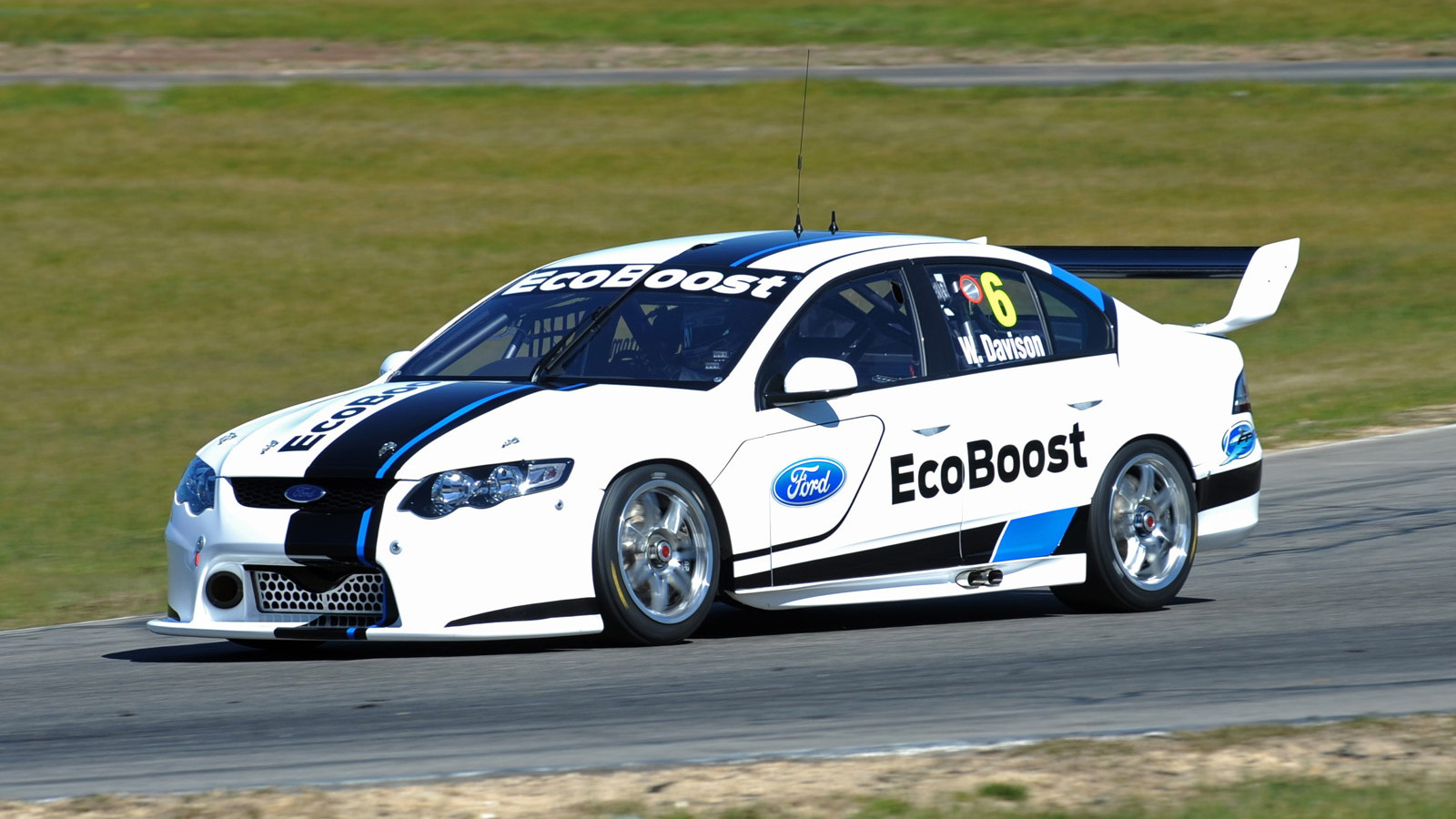 2013 Ford Falcon V8 Supercars race car