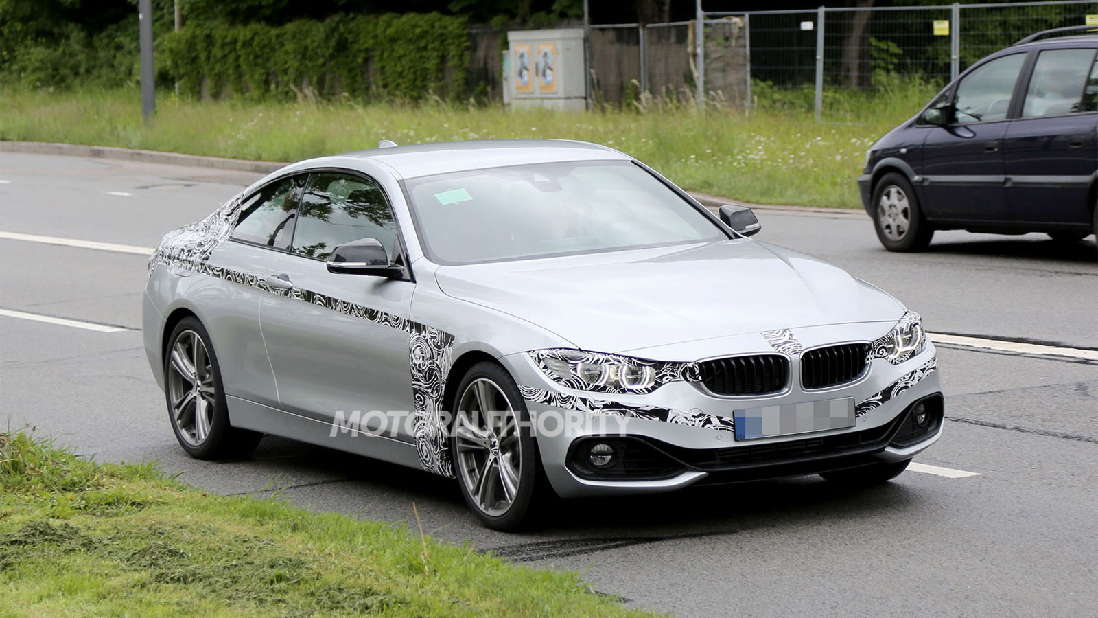 2014 BMW 4-Series Coupe spy shots