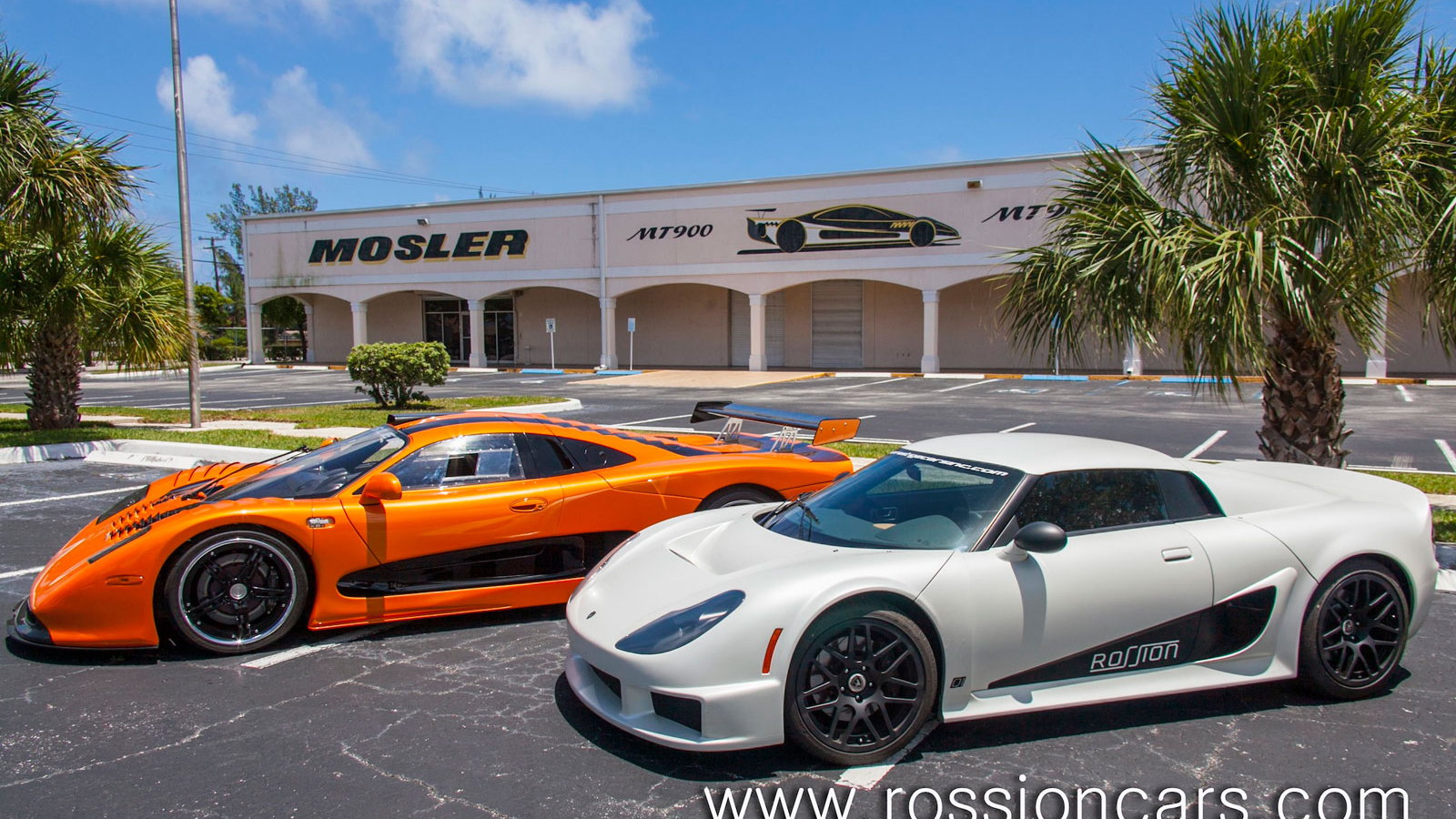Mosler MT900 and Rossion Q1