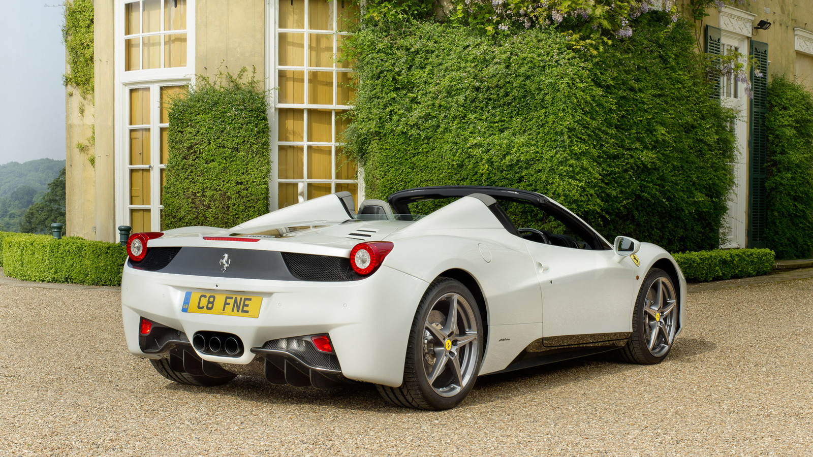 Tailor-Made Ferrari 458 Spider