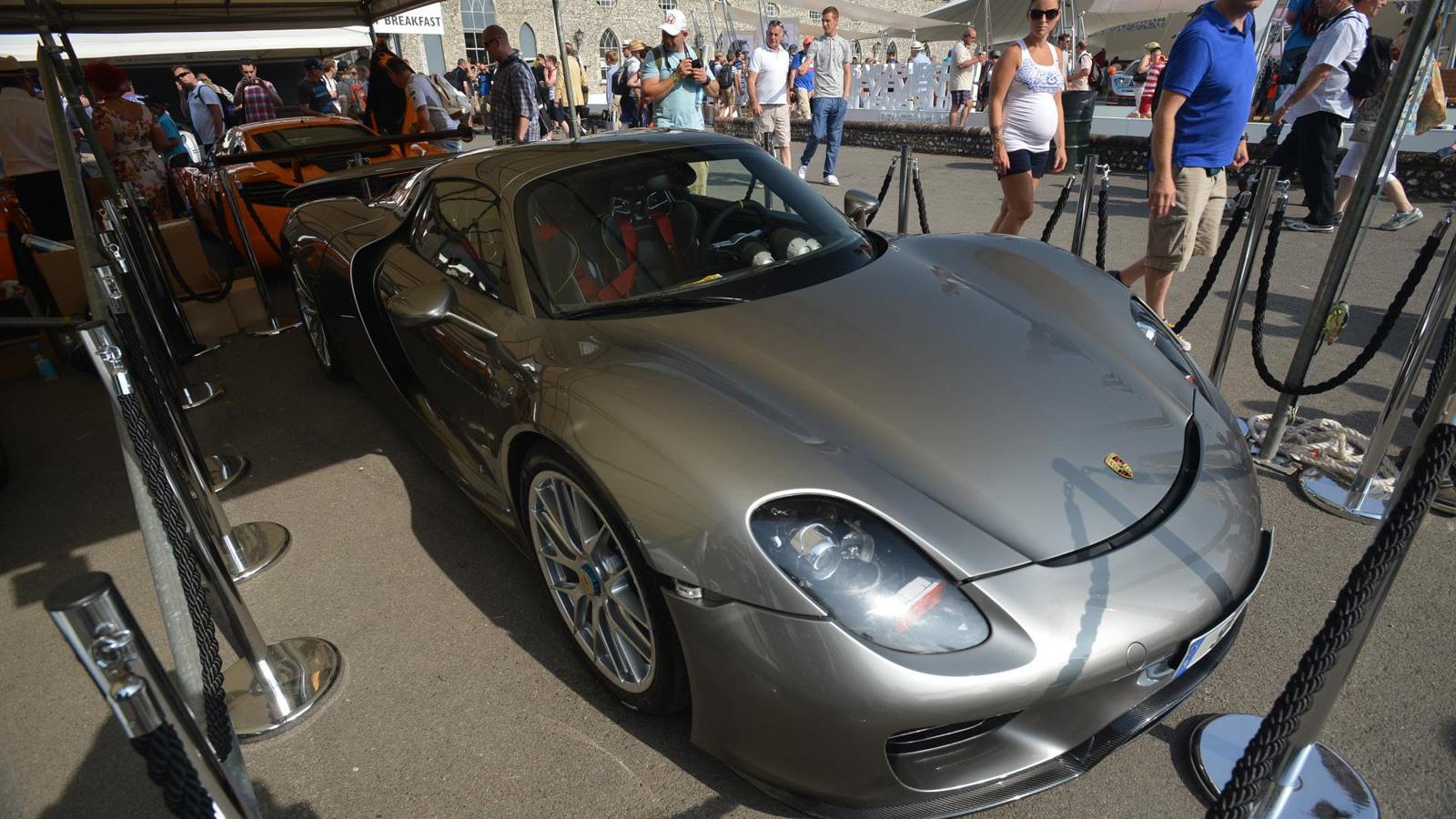 Porsche 918 Spyder at the 2013 Goodwood Festival of Speed
