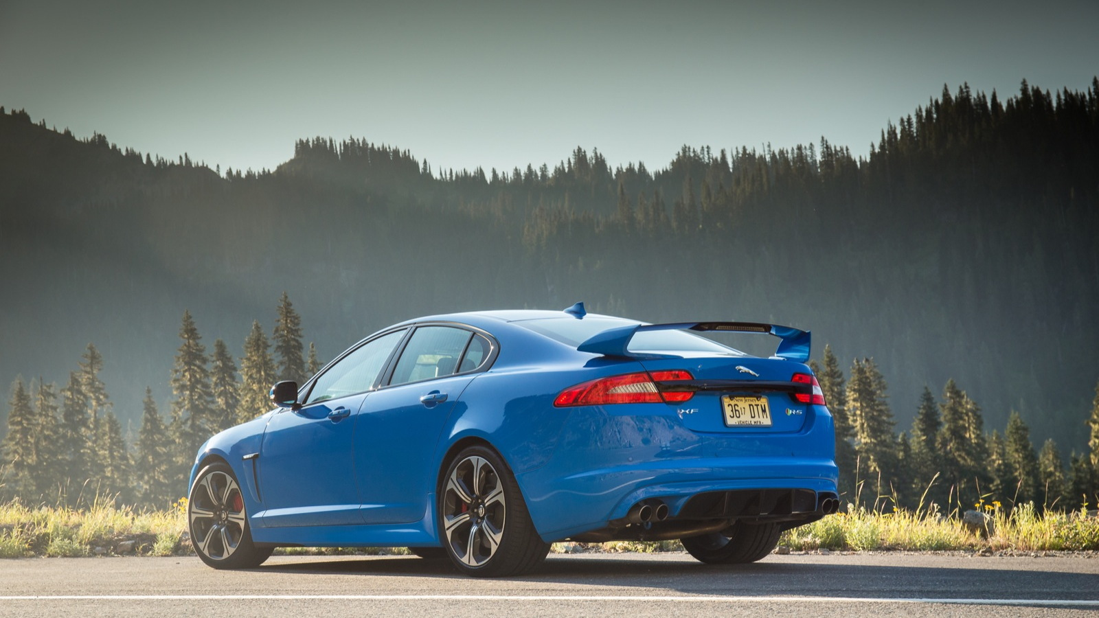 2014 Jaguar XFR-S  -  First Drive  -  August 2013