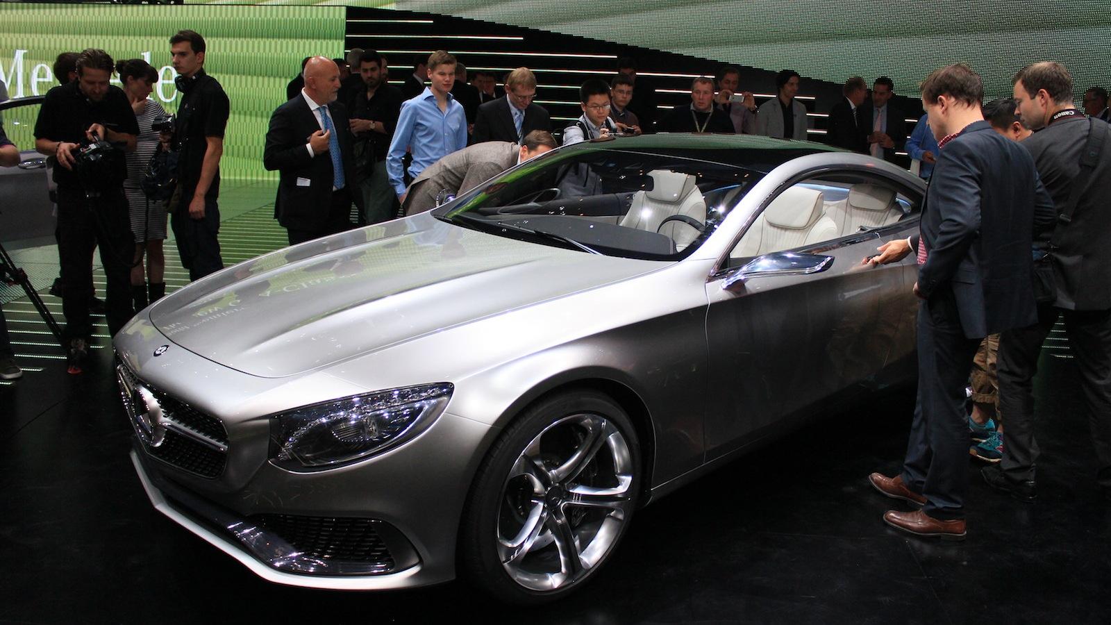 Mercedes-Benz Concept S Class Coupe, 2013 Frankfurt Auto Show