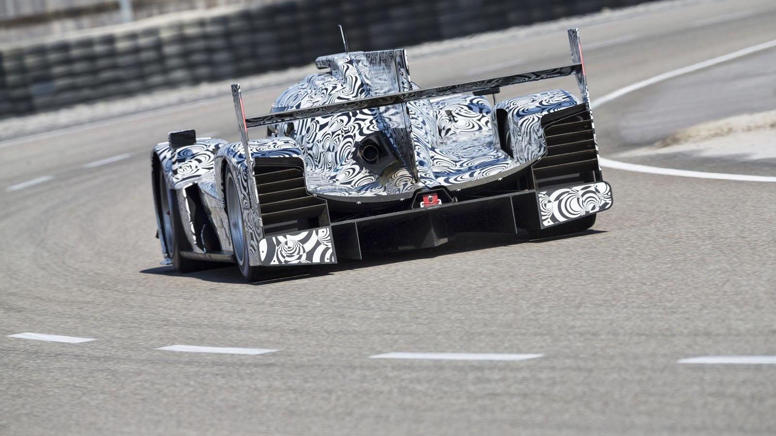 2014 Porsche Le Mans prototype (LMP1)