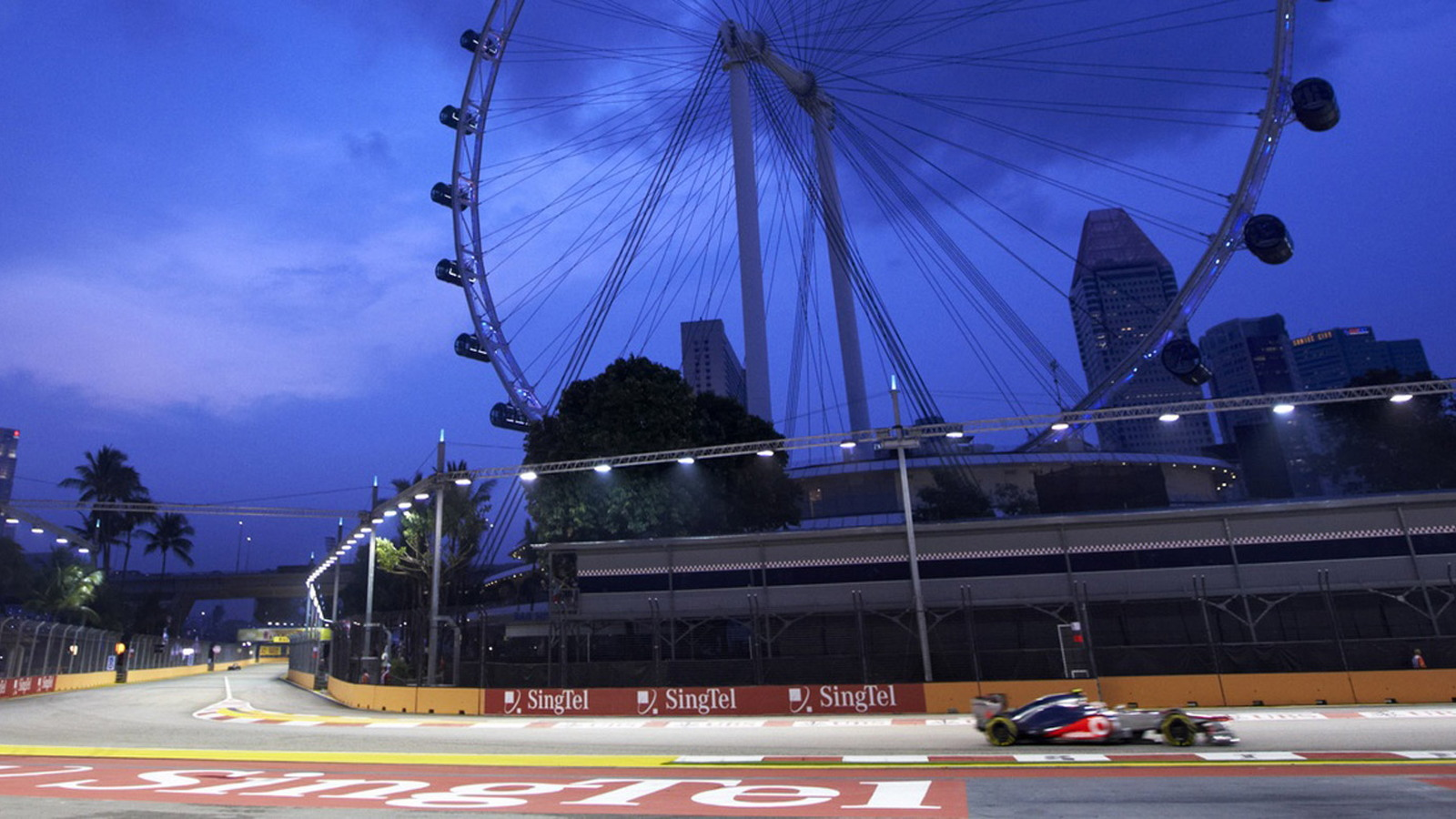 McLaren at the 2013 Formula One Singapore Grand Prix
