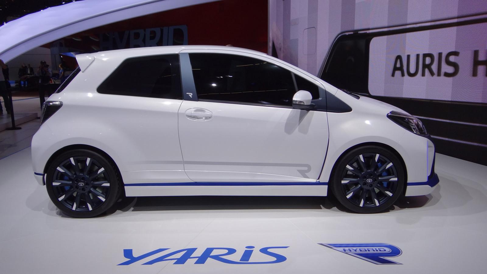 Toyota Yaris Hybrid-R concept, 2013 Frankfurt Auto Show