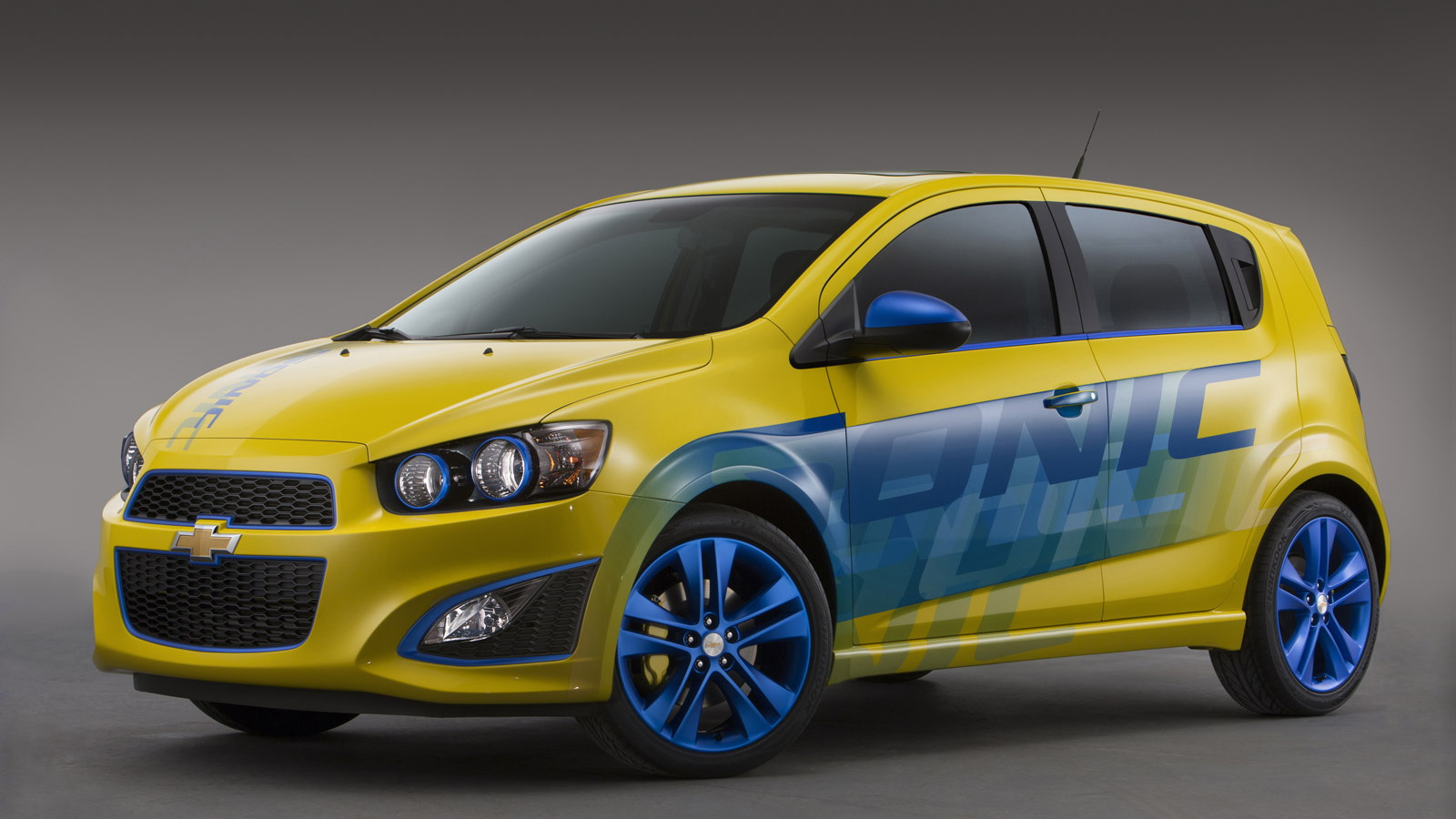 Chevrolet Sonic RS concept, 2013 SEMA