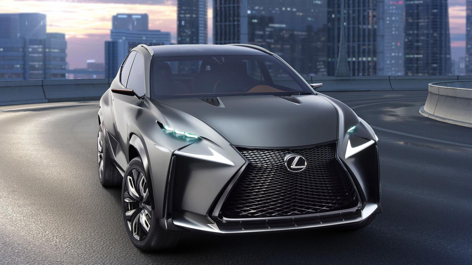 Lexus LF-NX turbo concept, 2013 Tokyo Motor Show