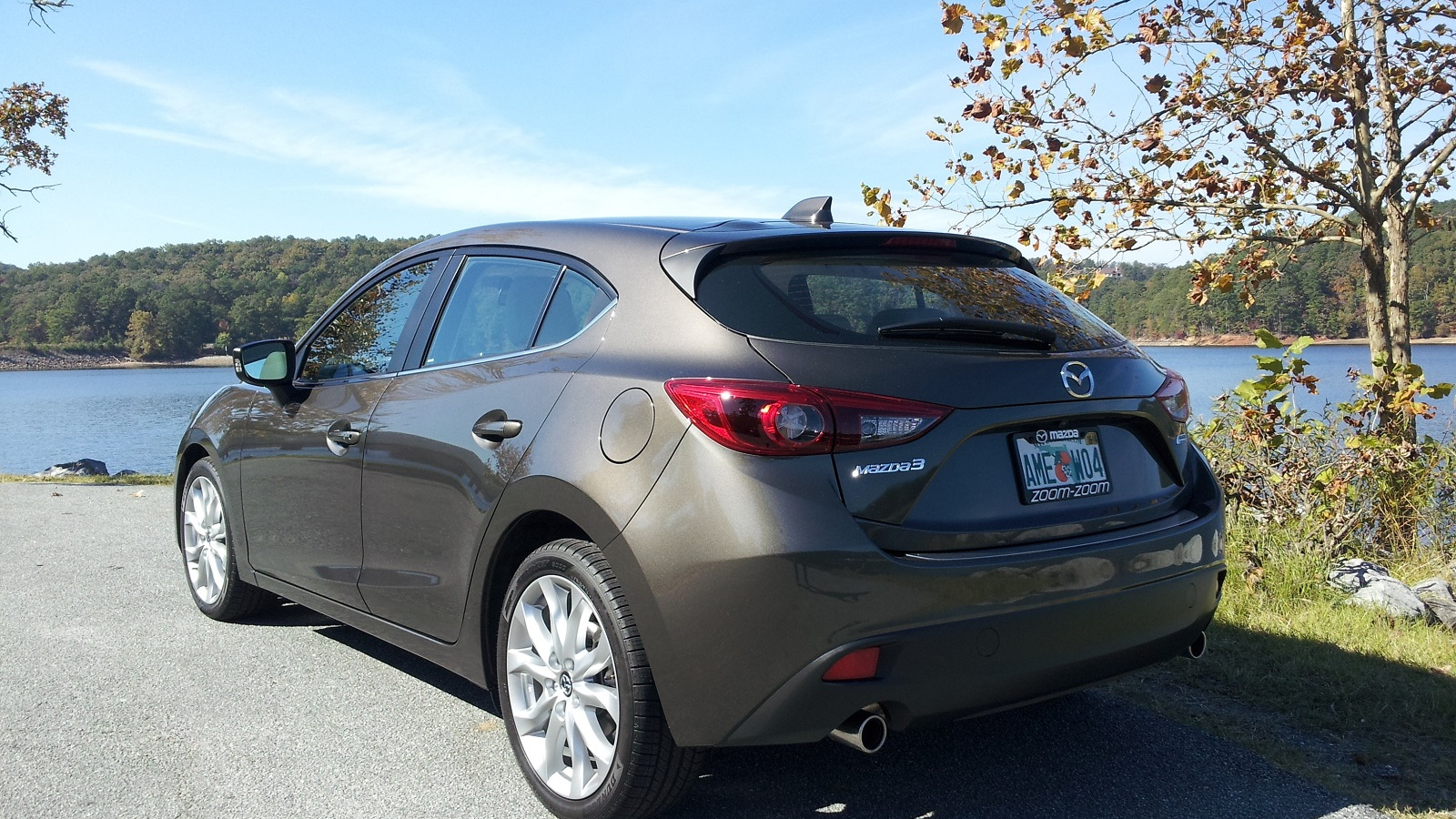 2014 Mazda 3, test drive, Atlanta region, Oct 2013