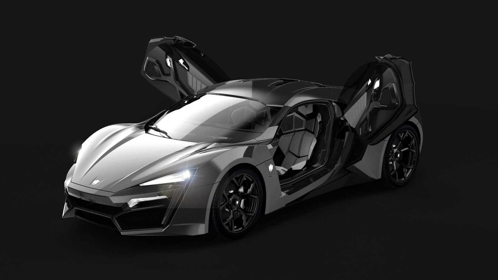 W Motors Lykan Hypersport pre-production model