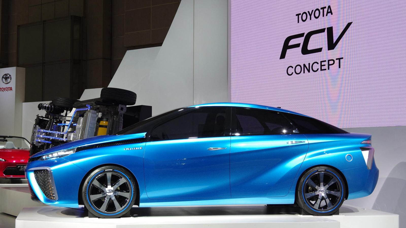 Toyota FCV concept, 2013 Tokyo Motor Show
